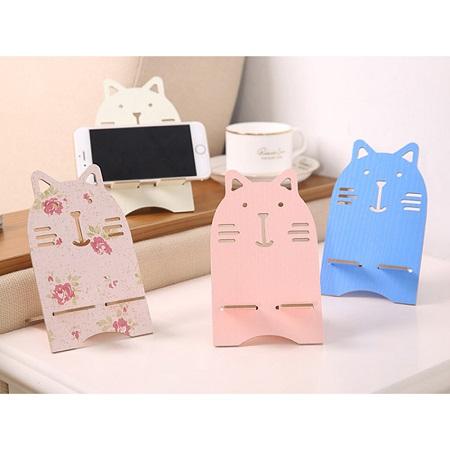 [주문제작]고양이 휴대폰 거치대 / 500개 이상 주문가능 K885520