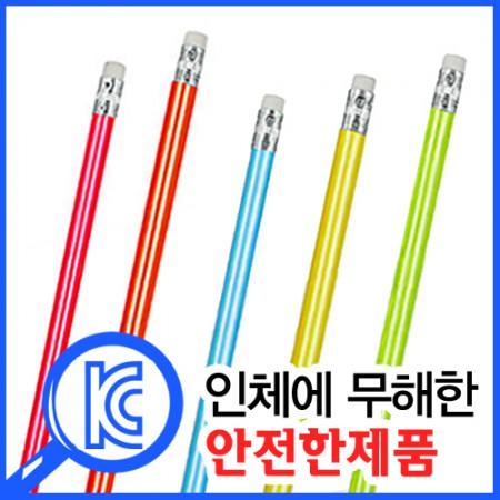 고급원형무지개연필, 100개 이상 주문가능 K805961