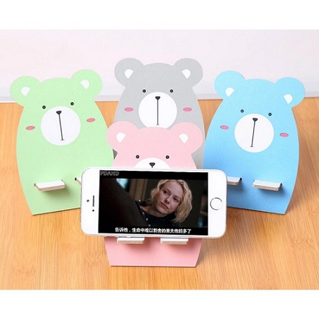 [주문제작]아기곰 휴대폰 거치대 / 500개 이상 주문가능 K129608